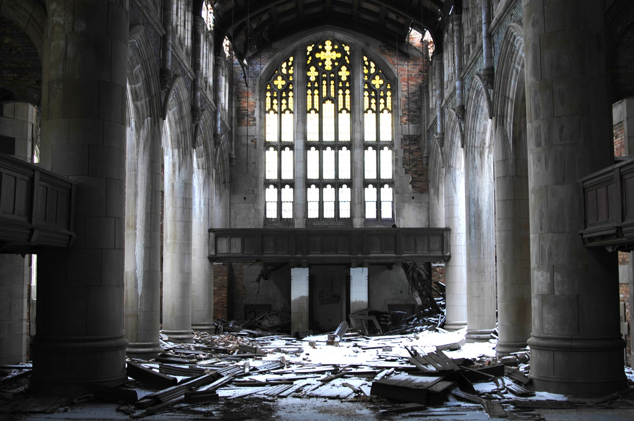 Abandoned Church Delectable With Abandoned Church Interior Pictures