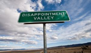 disappointment valley
