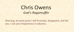 God's Ragamuffin