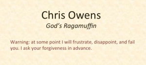 God's Ragamuffin